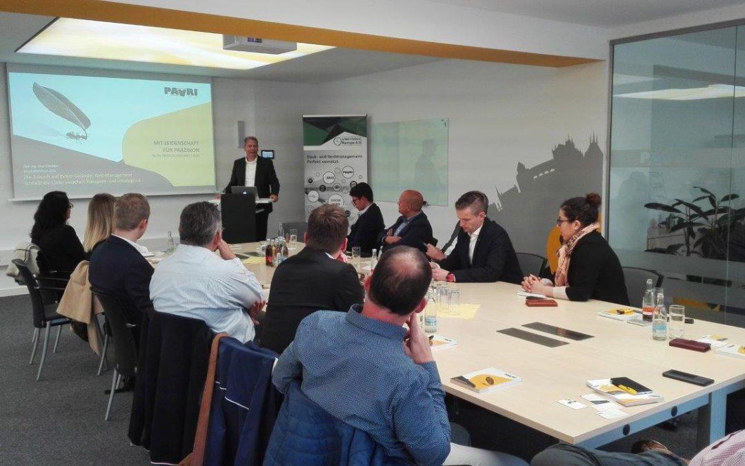Dock and Yard Management – Netzwerkabend des Logistik Netzwerk Thüringen bei PAARI®